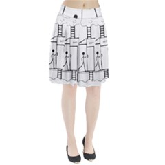 Drawing Pleated Skirt