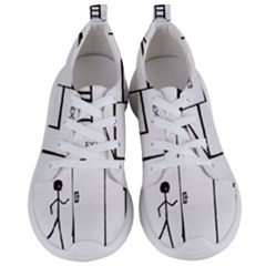 Drawing Women s Lightweight Sports Shoes