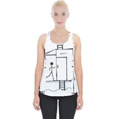 Drawing Piece Up Tank Top