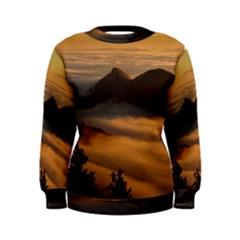 Homberg Clouds Selva Marine Women s Sweatshirt