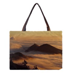 Homberg Clouds Selva Marine Medium Tote Bag by Simbadda