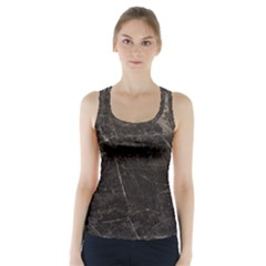 Marble Tiles Rock Stone Statues Racer Back Sports Top