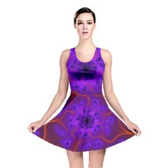 Fractal Mandelbrot Reversible Skater Dress