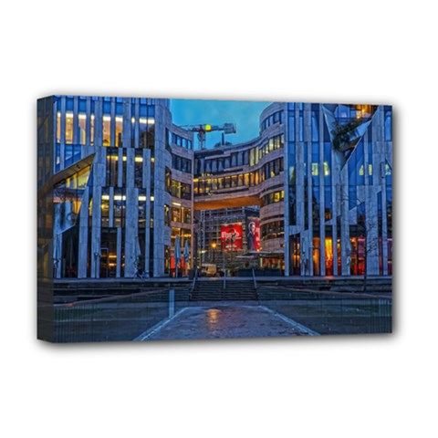 Architecture Modern Building Deluxe Canvas 18  X 12