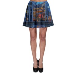 Architecture Modern Building Skater Skirt