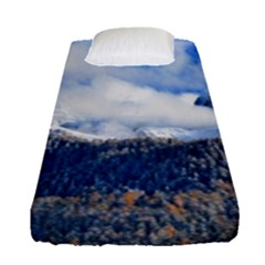 Mountains Alpine Nature Dolomites Fitted Sheet (single Size)