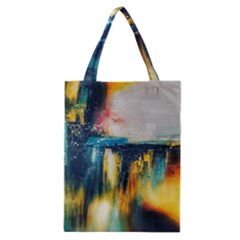 Art Painting Abstract Yangon Classic Tote Bag