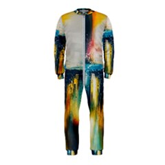 Art Painting Abstract Yangon Onepiece Jumpsuit (kids)