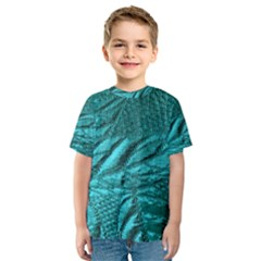 Background Texture Structure Kids  Sport Mesh Tee