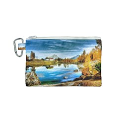Dolomites Mountains Italy Alpin Canvas Cosmetic Bag (small)