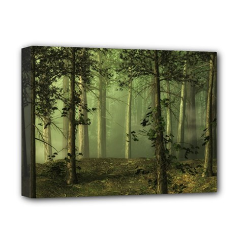 Forest Tree Landscape Deluxe Canvas 16  X 12