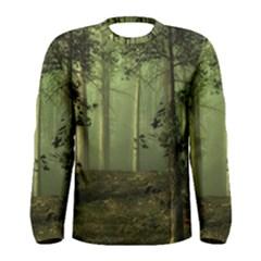 Forest Tree Landscape Men s Long Sleeve Tee