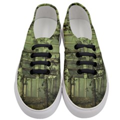 Forest Tree Landscape Women s Classic Low Top Sneakers