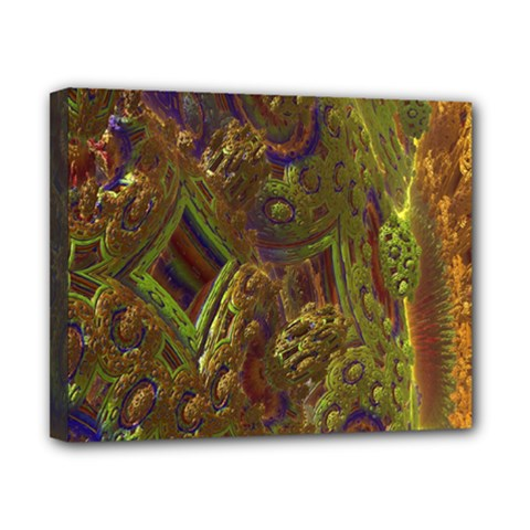 Fractal Virtual Abstract Canvas 10  X 8