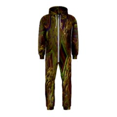 Fractal Virtual Abstract Hooded Jumpsuit (kids)