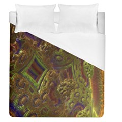 Fractal Virtual Abstract Duvet Cover (queen Size)