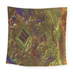 Fractal Virtual Abstract Square Tapestry (large)