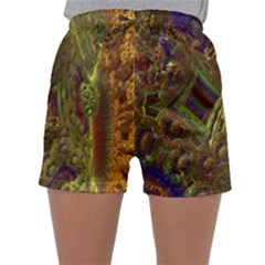Fractal Virtual Abstract Sleepwear Shorts