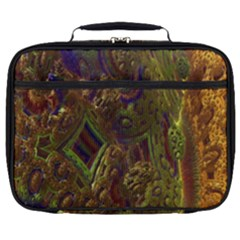 Fractal Virtual Abstract Full Print Lunch Bag