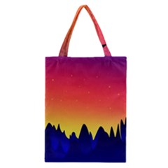 Night Landscape Classic Tote Bag