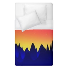 Night Landscape Duvet Cover (single Size)