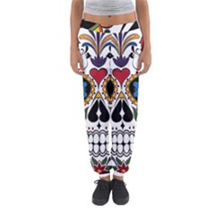 Cranium Sugar Skull Women s Jogger Sweatpants