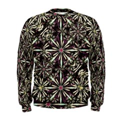 Dark Tropical Pattern Men s Sweatshirt