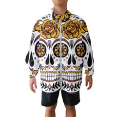 Sugar Skull Wind Breaker (kids)