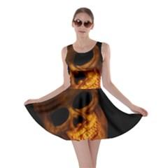 Laughing Skull Skater Dress