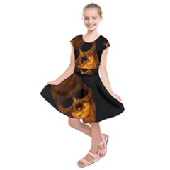 Laughing Skull Kids  Short Sleeve Dress