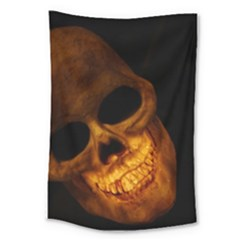 Laughing Skull Large Tapestry