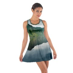 Evening Landscape Cotton Racerback Dress