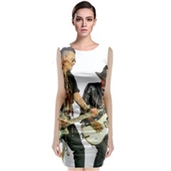 Rnr Classic Sleeveless Midi Dress