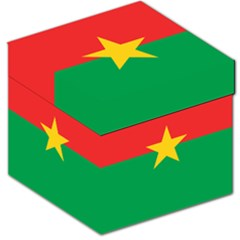 Flag Of Burkina Faso Storage Stool 12