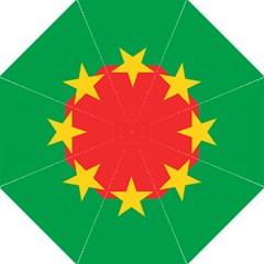Flag Of Burkina Faso Golf Umbrellas