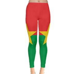Flag Of Burkina Faso Leggings