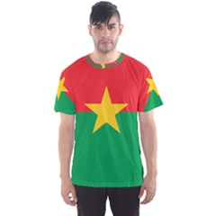 Flag Of Burkina Faso Men s Sports Mesh Tee