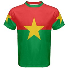 Flag Of Burkina Faso Men s Cotton Tee