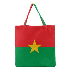 Flag Of Burkina Faso Grocery Tote Bag