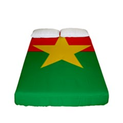 Flag Of Burkina Faso Fitted Sheet (full/ Double Size)