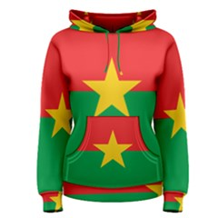 Flag Of Burkina Faso Women s Pullover Hoodie