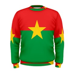 Flag Of Burkina Faso Men s Sweatshirt by abbeyz71