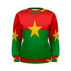 Flag Of Burkina Faso Women s Sweatshirt