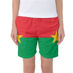 Flag Of Burkina Faso Women s Basketball Shorts