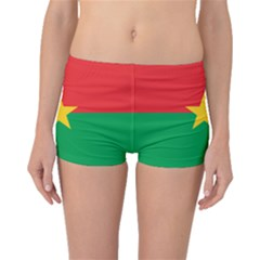 Flag Of Burkina Faso Boyleg Bikini Bottoms
