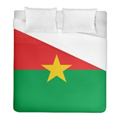 Flag Of Burkina Faso Duvet Cover (full/ Double Size)