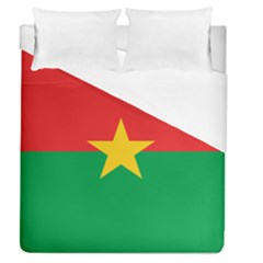 Flag Of Burkina Faso Duvet Cover (queen Size)