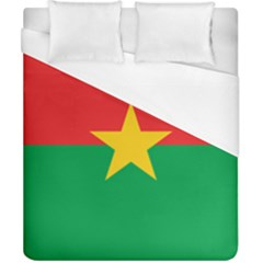 Flag Of Burkina Faso Duvet Cover (california King Size)
