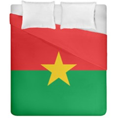 Flag Of Burkina Faso Duvet Cover Double Side (california King Size)