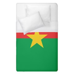 Flag Of Burkina Faso Duvet Cover (single Size)